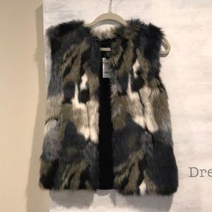 Faux Fur Vest NWT